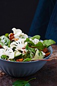 Cauliflower salad with croutons