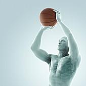 Basketball Shot, artwork