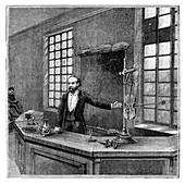 Acoustics experiment by Lippmann, 19th century