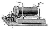 Ruhmkorff coil, 19th century
