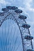 The London Eye detail.