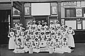 Volunteer nurses during World War I
