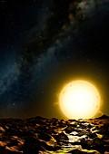 Mega Earth - Kepler 10c