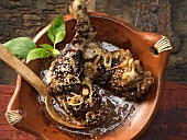 Chicken with chilli and chocolate sauce (Mexico)