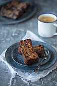 Coffee Fruit Cake