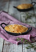Shepherds pie in a dish (England)