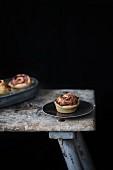 Spicy beetroot pastries