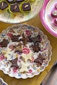 Handmade sweet treats at the chocolatier and bakery 'Cocomaya' in London