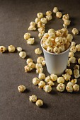 Popcorn in a cup