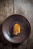 Honeycombe on a Metal Plate