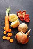 Gemüse als Geschmacksträger für Brot