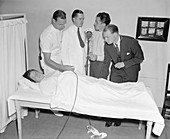 Foetal heartbeat broadcast, 1938