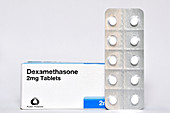 Dexamethasone anti-inflammatory steroid tablets