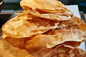 Poppadoms (Indian flatbread)