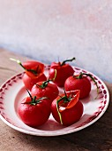 Blanchierte Tomaten