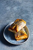 Mini strudels with poppy seeds