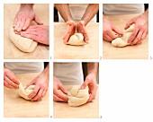 St. Gallener Brot aus Ruchmehl zubereiten (Schweiz)