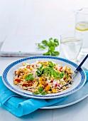 Risotto mit Mais, Chili und Koriander