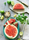 Watermelon, Basil, Lime and Cocos