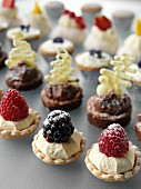 Assorted petit fours