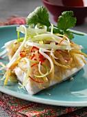 Malaysian steamed fish