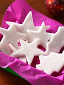 Xmas peppermint cream stars