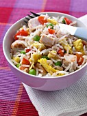 Chinese chicken special fried rice