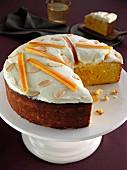 A Morrocan orange cake