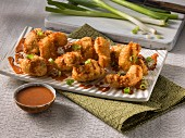 Chicken and shrimp poppers