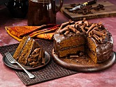 Sucanat fudge cake
