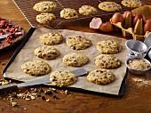 Granola crunch cookies