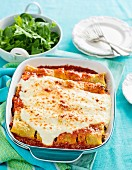 Beef and Mushroom Cannelloni (Gluten Free)