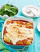 Rindfleisch-Pilz-Cannelloni (Glutenfrei)