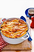 Cheesy Pastry Beef and Potato Casserole