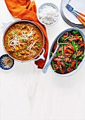 Beef Rendang - Asian Pork and Green Bean Casserole