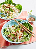 Fish Larb Noodle Bowls