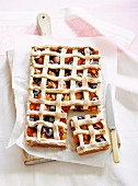 Cherry and Apricot Lattice Pie