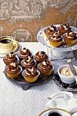 Tiramisu butterfly cakes