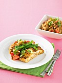 Moroccan Fish with Spiced Lentils