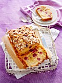 Pear and raspberry bread (Gluten-free)