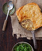 Pork, apple, parsnip and sage pie