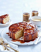Spiced Apple Syrup Cake