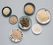 Porridge oats and cereals