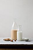 Vegan nut milk and coconut milk