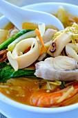 Seafood soup, Vietnamese food, Vietnam, Indochina, Southeast Asia, Asia