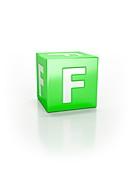 Green cube, F.