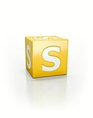 Yellow cube, S.