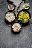 Dal and Rice - Indian cuisine