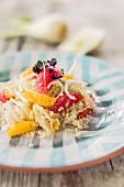 Bulgur-Fenchel-Salat mit Zitrusfrüchten