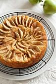 Apfel-Zimt-Teekuchen